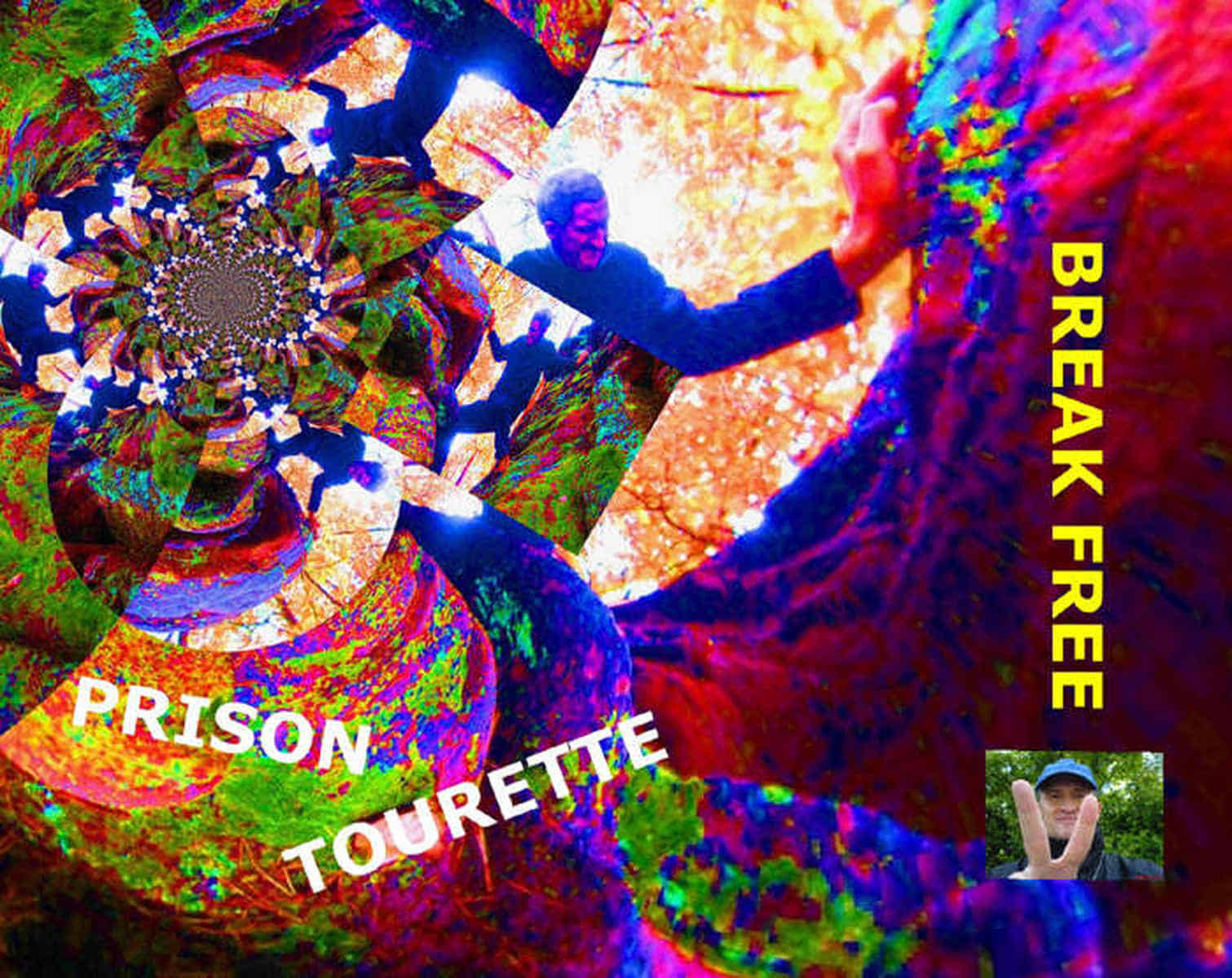 Grafik: Postkarte 05: Prison Tourette --- Break Free.