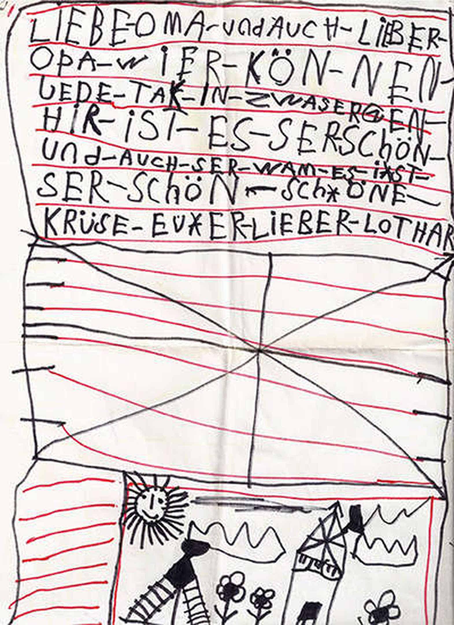Foto: Hier ist der neue Brief zu sehen.